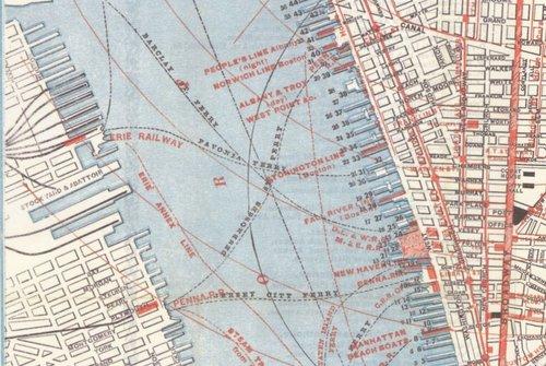 1879_Lower_Manhattan_PRR_ferries_map