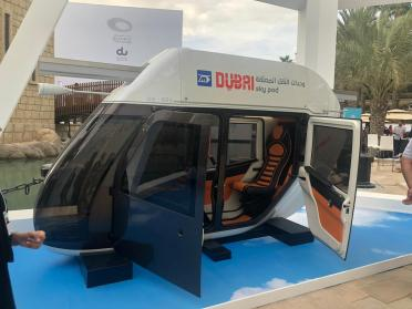 Dubai Sky pods are a futuristic mobility system planned in Dubai._resources1