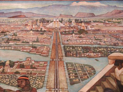 Tenochtitlan — Image via  Flickr .